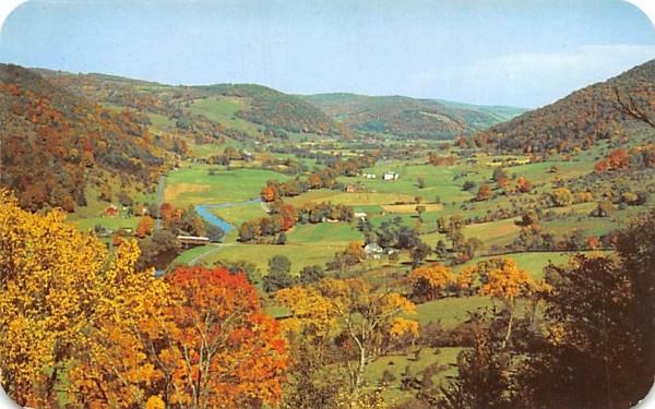 Catskill Mountain Vacationlands Delhi, New York Postcard