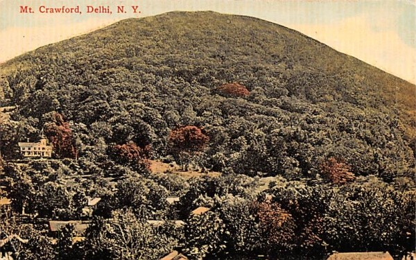 Mt Crawford Delhi, New York Postcard