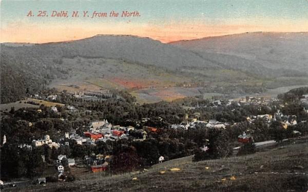 From the North Delhi, New York Postcard