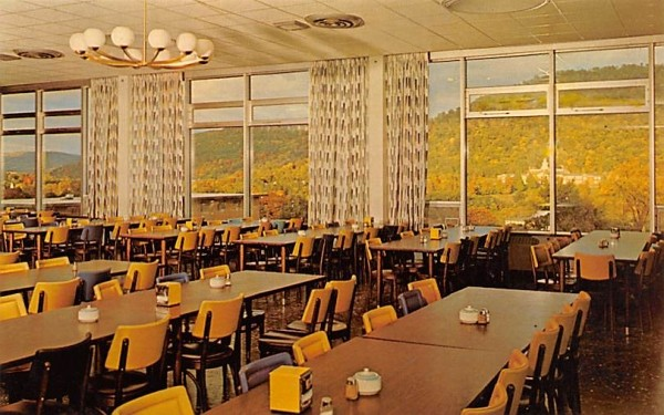 From Dining Hall Delhi, New York Postcard