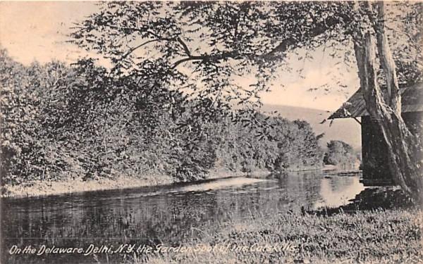 Delaware Delhi, New York Postcard