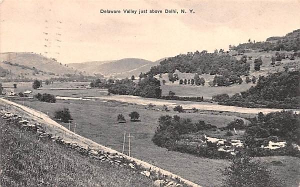 Delaware Valley Delhi, New York Postcard