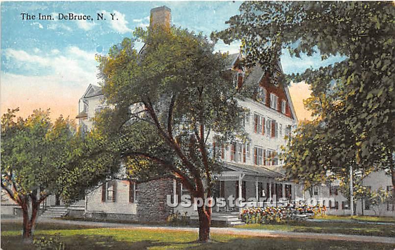 The Inn - De Bruce, New York NY Postcard
