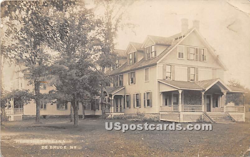 Hearthstone Inn - De Bruce, New York NY Postcard