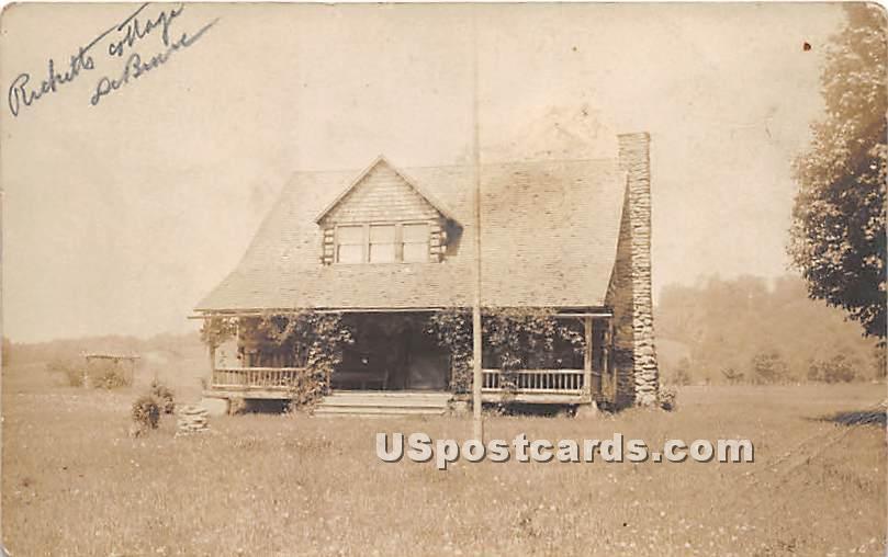 Rickard Cottage - De Bruce, New York NY Postcard