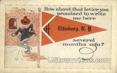 Ellisburg, New York, NY Postcard
