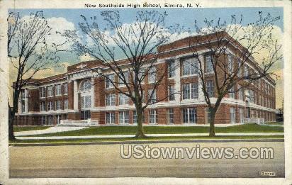 New Southside High School - Elmira, New York NY Postcard