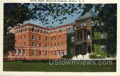 Arnot Ogden Memorial Hospital - Elmira, New York NY Postcard