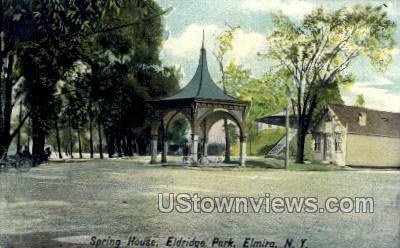 Eldridge Park - Elmira, New York NY Postcard