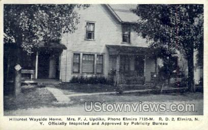 Hillcrest Wayside Home - Elmira, New York NY Postcard