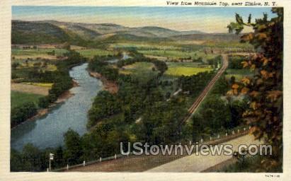 Elmira, New York, NY Postcard