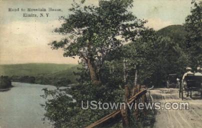 Mtn. House - Elmira, New York NY Postcard