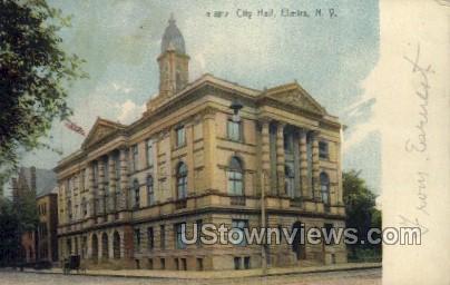 City Hall - Elmira, New York NY Postcard