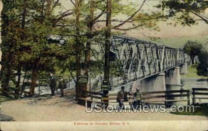 Roricks - Elmira, New York NY Postcard