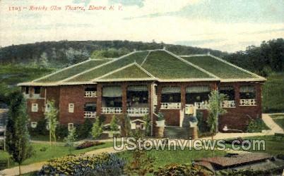 Roricks Glen Theatre - Elmira, New York NY Postcard