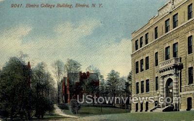 Elmira College - New York NY Postcard
