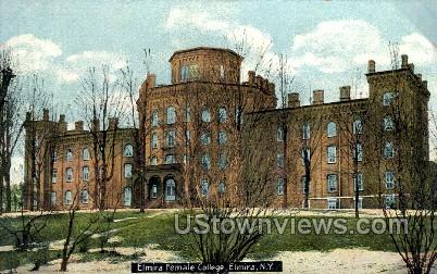 Elmira Female College - New York NY Postcard