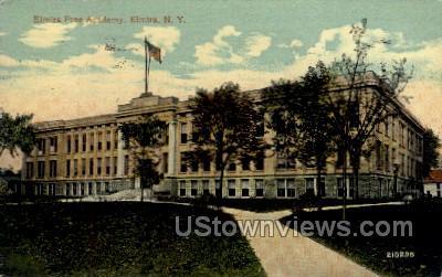 Free Academy - Elmira, New York NY Postcard