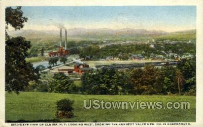 Kennedy Valve - Elmira, New York NY Postcard