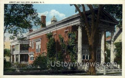 Arnot Art Gallery - Elmira, New York NY Postcard
