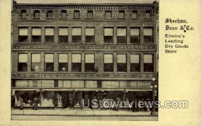 Sheehan, Dean & Co. - Elmira, New York NY Postcard