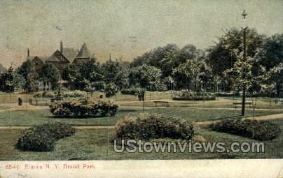 Brand Park - Elmira, New York NY Postcard