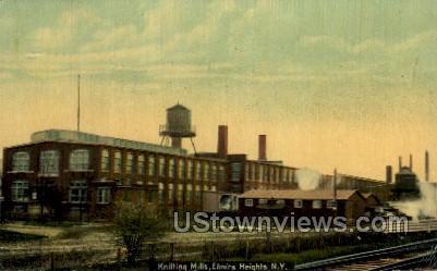 Knitting Mills - Elmira, New York NY Postcard