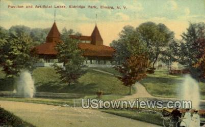 Pavillion - Elmira, New York NY Postcard