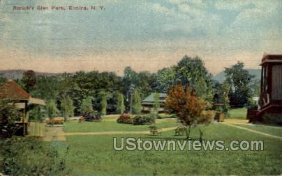 Rorick's Glen - Elmira, New York NY Postcard