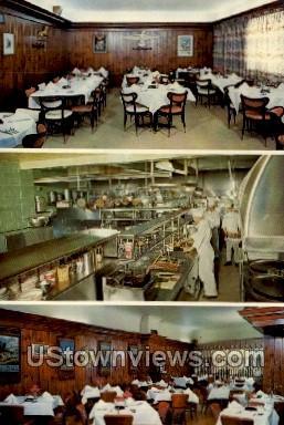 Pierce's Restaurant - Elmira Heights, New York NY Postcard