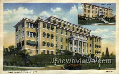 Ideal Hospital - Endicott, New York NY Postcard