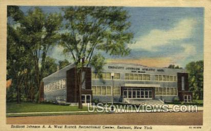 Recreational Center - Endicott, New York NY Postcard