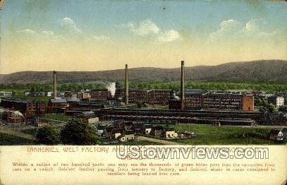Welt Factory - Endicott, New York NY Postcard
