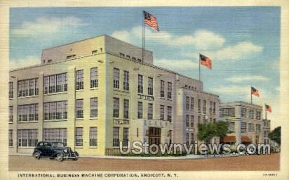 International Business - Endicott, New York NY Postcard
