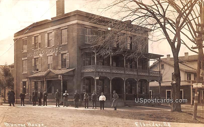 Munroe House - Elbridge, New York NY Postcard