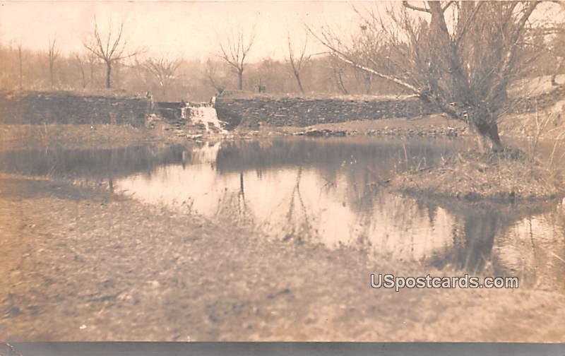Water Scene - Ellenville, New York NY Postcard