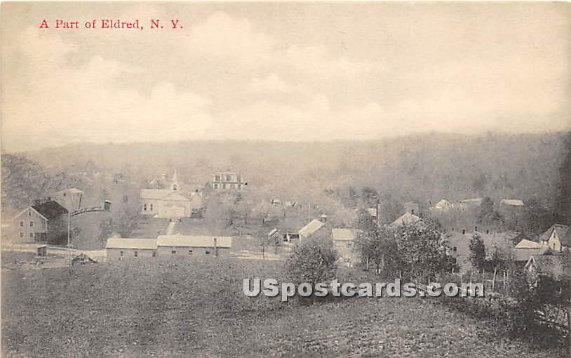 A Part - Eldred, New York NY Postcard