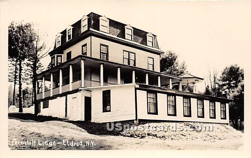 Ferncliff Lodge - Eldred, New York NY Postcard