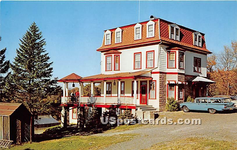 Ferncliff Lodge Hotel & Motel - Eldred, New York NY Postcard