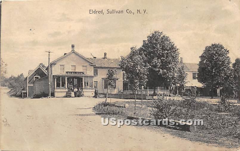 W H Wilson - Eldred, New York NY Postcard