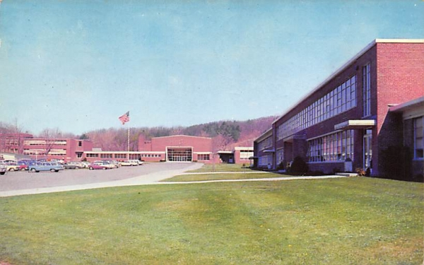 Centeral School Ellenville, New York Postcard