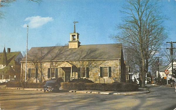 United States Post Office Ellenville, New York Postcard