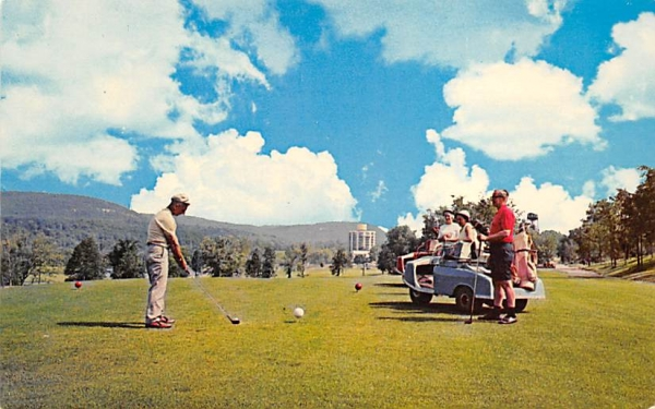 The Nevele Country Club Ellenville, New York Postcard