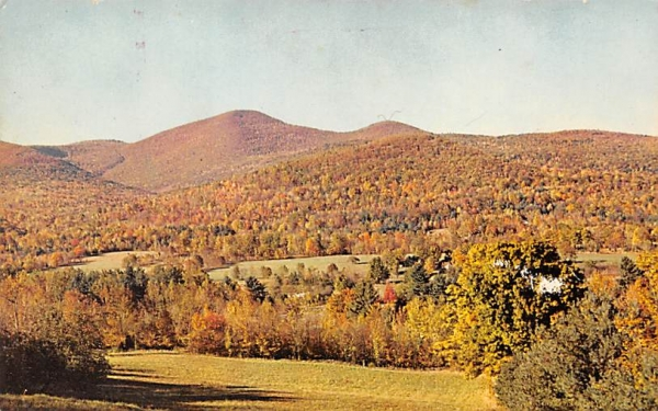 Samuels Point Catckill Mountains Ellenville, New York Postcard