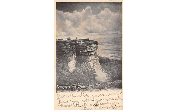 Sam's Point 2342 Ft Above Sea Level Ellenville, New York Postcard