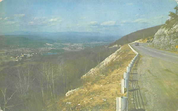 Shawanguent Trail Ellenville, New York Postcard