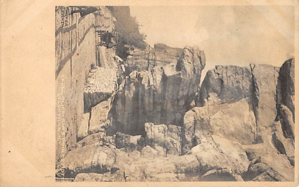 Under Cliff Sam's Point Ellenville, New York Postcard