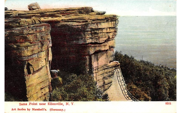 Sam's Point Ellenville, New York Postcard