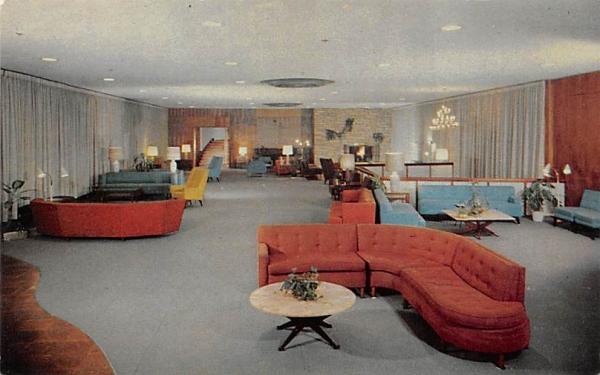 Fallsview Lobby Ellenville, New York Postcard