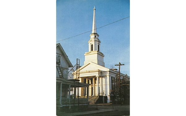 Reformed Church Ellenville, New York Postcard